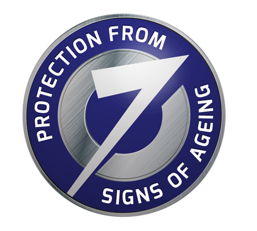 7 signs of aging protection logo