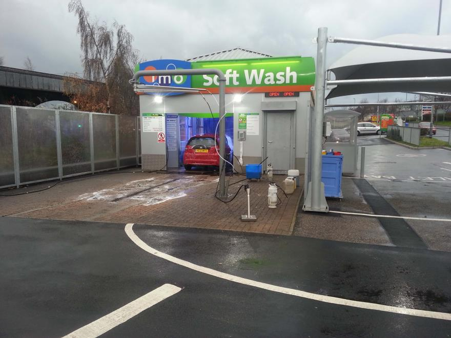 IMO Car Wash Huddersfield