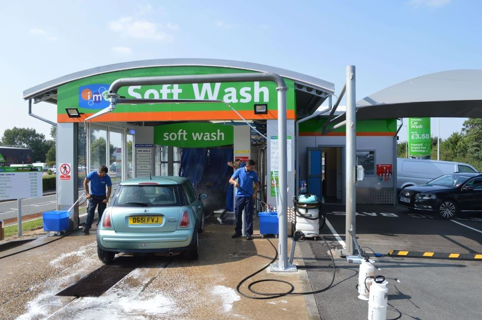 IMO Car Wash Newmarket