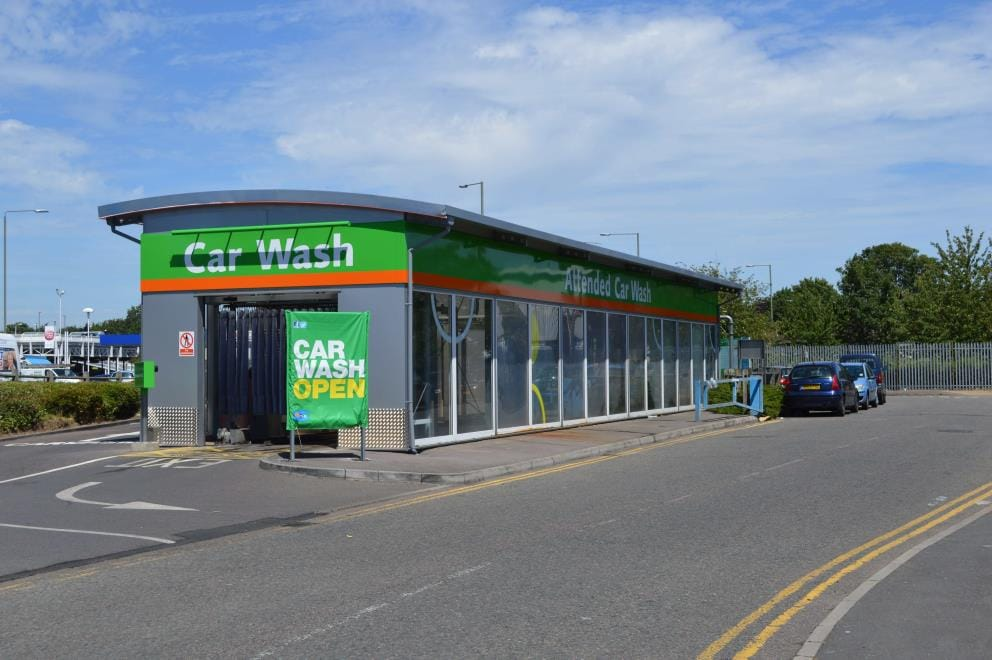IMO Car Wash Elmers End